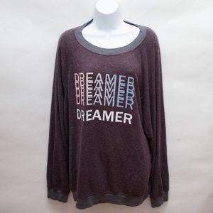 New Wildfox Dreamer Pullover Sweater Jumper Sz XL